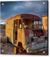 Abandoned Van Acrylic Print
