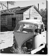 Abandoned Volkswagen Van Acrylic Print