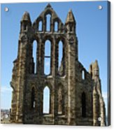 Abbey At Whitby  Acrylic Print