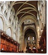 Abbey Church Of Saint Mary, Or Buckfast Abbey Acrylic Print