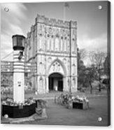 Abbey Gate Acrylic Print