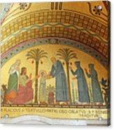 Abbey Mosaic Acrylic Print