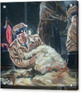 Abbott And Costello Meet Frankenstein Acrylic Print