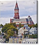 Abbott Hall From Water View Acrylic Print
