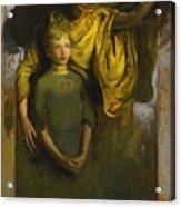 Abbott Handerson Thayer 1849 - 1921 Boy And Angel Acrylic Print