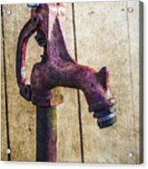 Abbott's Mill Water Spigot Acrylic Print