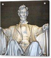 Abe Down To His Knees Acrylic Print