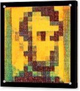 Abe In Yellow Acrylic Print