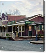 Abigail's Cafe - Hope Valley Art Acrylic Print