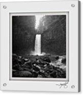 Abiqua Falls Amphitheater  Acrylic Print