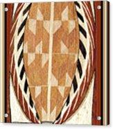 Aboriginal Bark Painting  Acrylic Print