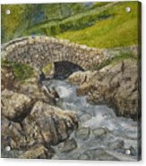 Above Ashness Bridge Acrylic Print