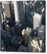 Above Chicago 2 Acrylic Print