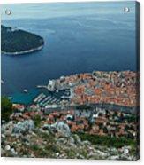 Above Dubrovnik - Croatia Acrylic Print