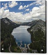 Above Echo Lake Acrylic Print