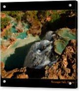 Above Havasupai Falls Arizona Acrylic Print