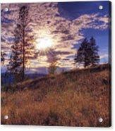 Above Lake Okanagan Acrylic Print