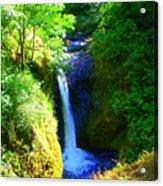 Above Onionta Falls Acrylic Print