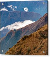 Above The Clouds In The Andes Acrylic Print