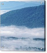 Above The Clouds Panoramic Acrylic Print