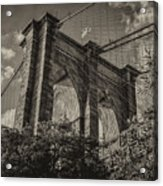 Above The Fray Acrylic Print