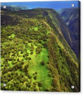 Above The Valleys Acrylic Print