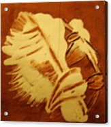 Abraham - Tile Acrylic Print