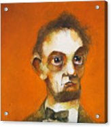 Abraham Acrylic Print by Kurt Riemersma