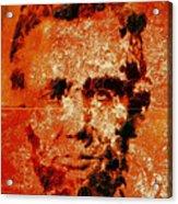 Abraham Lincoln 4d Acrylic Print