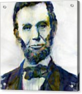 Abraham Lincoln Portrait Study 2 Acrylic Print