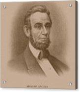 Abraham Lincoln - Savior Of His Country Acrylic Print