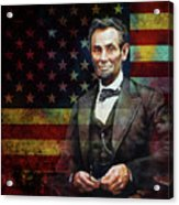 Abraham Lincoln The President  Acrylic Print