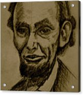 Abraham's Lincoln. Acrylic Print
