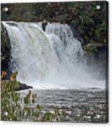 Abrams Falls Cades Cove Tn Acrylic Print