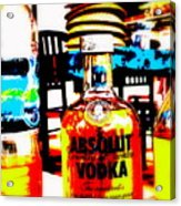 Absolut Gasoline Refills For Bali Bikes Acrylic Print
