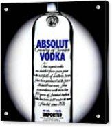 Absolut Vodka Acrylic Print