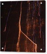 Abstarct Fireworks  Acrylic Print