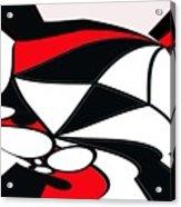Abstrac7-30-09-b Acrylic Print