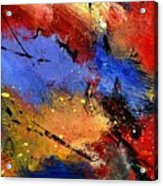Abstract 012110 Acrylic Print