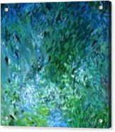 Abstract 05-25-09 Acrylic Print