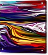 Abstract 06-12-09 Acrylic Print