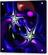 Abstract 060810f Acrylic Print