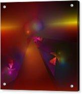 Abstract 062111a Acrylic Print