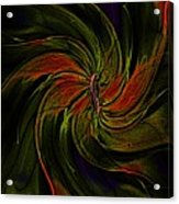 Abstract 070810a Acrylic Print