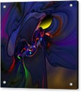 Abstract 080710 Acrylic Print
