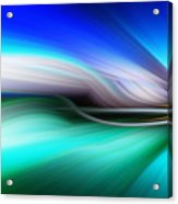Abstract 0902 M Acrylic Print