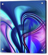 Abstract 0902 N Acrylic Print