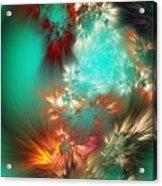 Abstract 090710b Acrylic Print