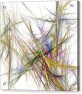 Abstract 10-16-09-2 Acrylic Print