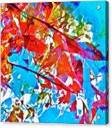 Abstract 128 Acrylic Print